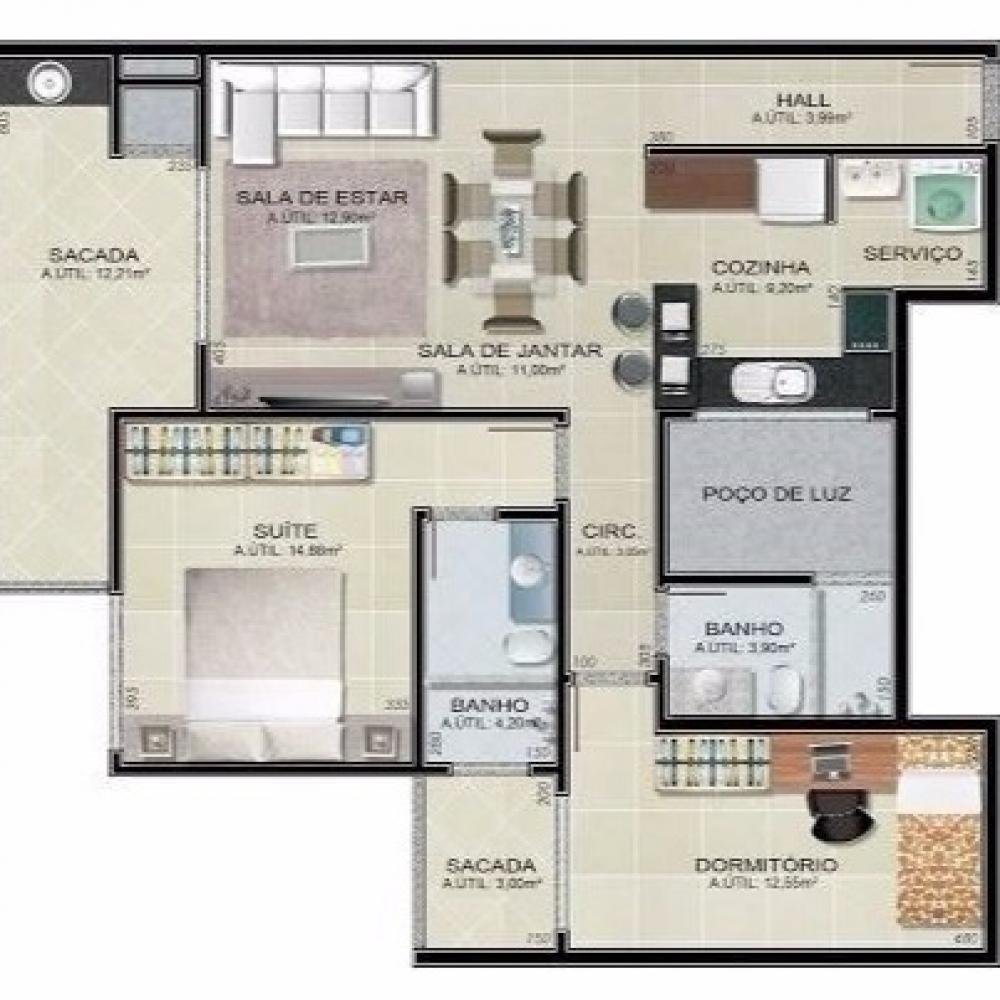 Imagem principal do empreendimento: Apartamento 202 - Ed. Alessandra Bolsi