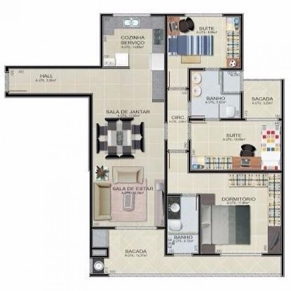Imagem principal do empreendimento: Apartamento 204 - Ed. Alessandra Bolsi